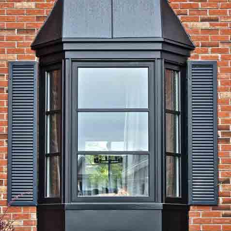 fenêtre en baie window